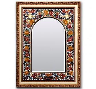 Espejo ref ca 629 01 ceramica y artesania - Espejos de ceramica ...