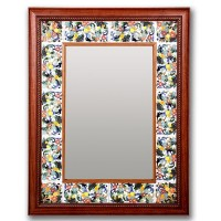 Tienda online de espejos de cer mica cuerda seca 8 - Espejos de ceramica ...